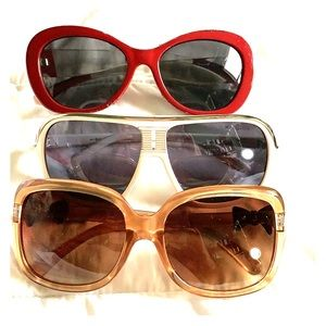 Accessories - 3 pair of unbranded sunglasses. New without tags